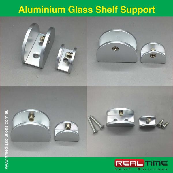 Aluminium Glass Shelf Support