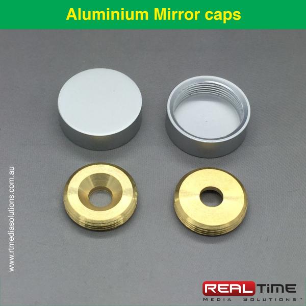 Aluminium Mirror caps-1
