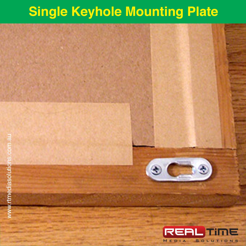 Single Keyhole Mounting Plate1