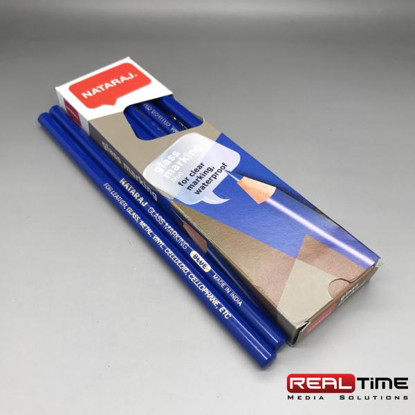 glass pencils Blue