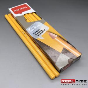 glass pencils yellow