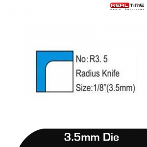 """Replaceable Die Blade for Corner Rounder Punch Cutter R3 Radius HighQuality 1//8/"""""""