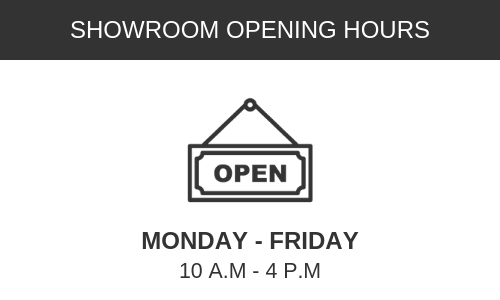 Showroom Open Hours